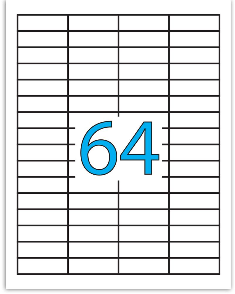 Brauberg Этикетка самоклеящаяся 1,7 х 4,8 см 64 шт х 50 листов0703415Самоклеящиеся этикетки позволят быстро и качественно подготовить адресные наклейки, регистрационные номера, аннотации при помощи лазерного или струйного принтера. Совместимы со всеми видами офисной техники.