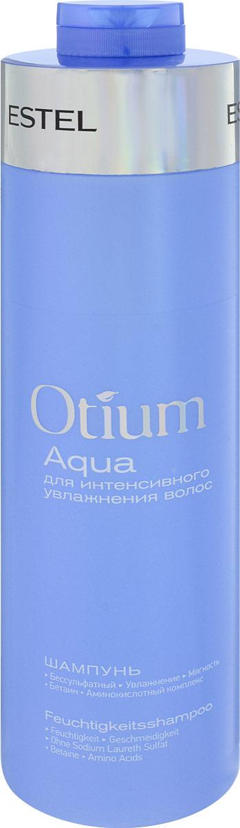 Estel Шампунь для волос увлажняющий (безсульфатный) Otium Aqua 1000 млSatin Hair 7 BR730MNEstel Otium Aqua - шампунь для волос увлажняющий бережно очищает волосы, подходит для ежедневного применения. Поддерживает естественный гидро - липидный баланс кожи головы, укрепляет структуру волос. Мощный увлажняющий комплекс True Aqua Balance с натуральным бетаином и аминокислотами улучшает состояние сухих, повреждённых волос, способствует удержанию влаги внутри волоса, не утяжеляя его. Делает волосы шелковистыми, здоровыми, придает мягкость и блеск. Обладает антистатическим эффектом. Не содержит лаурет сульфат натрия (новая современная тенденция в сегменте моющих средств по уходу за волосами и телом).Уважаемые клиенты!Обращаем ваше внимание на возможные изменения в дизайне упаковки. Качественные характеристики товара остаются неизменными. Поставка осуществляется в зависимости от наличия на складе.
