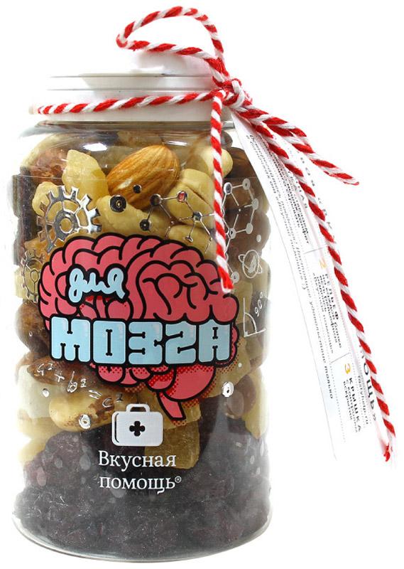 Вкусная помощь орехи Для мозга 165 г0120710Срочная питательная подзарядка для мозга с ореховой смесью.