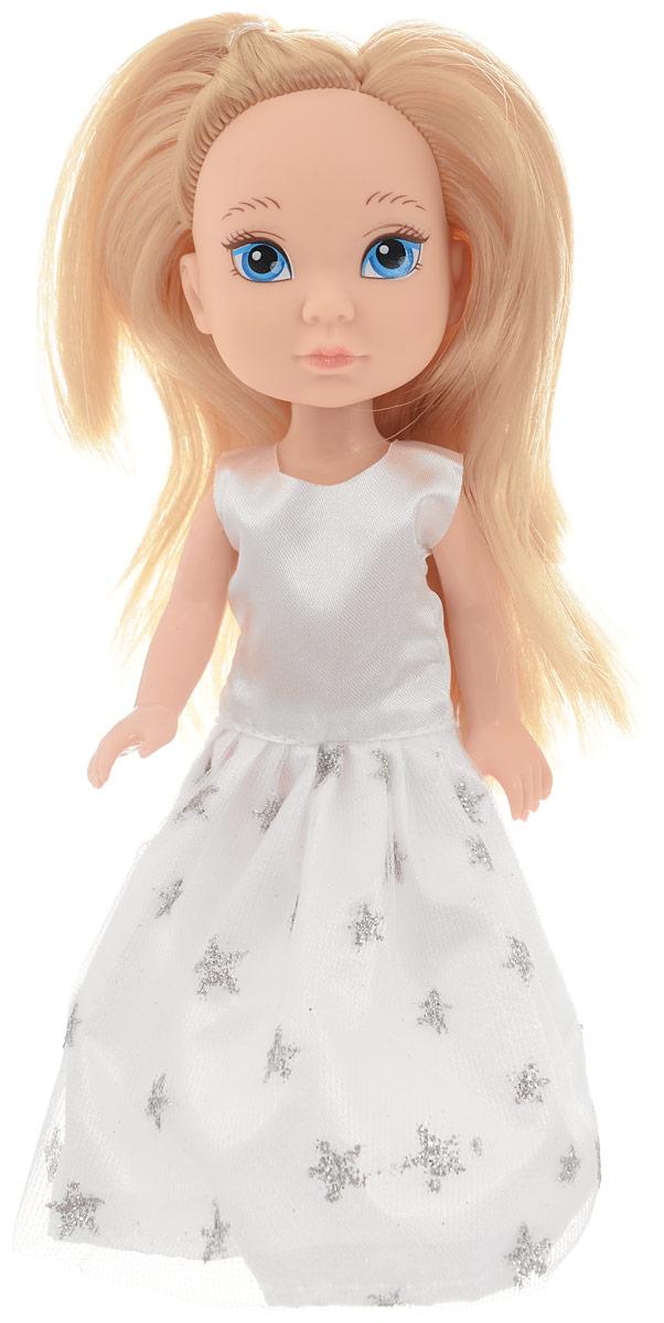 Junfa Toys Кукла Isabella цвет платья белый