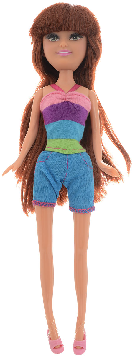 Funville Кукла Summer Fun цвет наряда голубой funville кукла sparkle girlz модница в рожке в ассортименте funville
