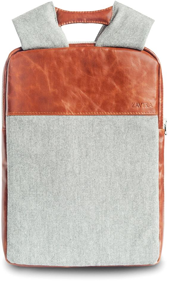 Рюкзак Zavtra, цвет: коричневый. zav10bro71069с-2• Ультратонкий, можно носить под верхней одеждой;• Натуральная кожа, 100% хлопок. Спинка из дышащего неопрена;• Два отдельных отсека;• Карман на лямке под пластиковую карту.Миниатюрный рюкзак Zavtra настолько тонкий и компактный, что его можно носить под курткой. Мы проверили это на рейсах авиакомпании Победа, рюкзак успешно прошел испытания на незаметность.В ультратонкий (4 см) рюкзак ZAVTRA легко помещается ноутбук с диагональю до 13 дюймов. В рюкзаке имеется два основных отделения - для ноутбука и документов. Внутри также предусмотрены разнообразные карманы и кольцо для крепления карабина либо ретрактора.Идеально подходит к:- Ноутбук до 13- Macbook Retina 13- Macbook Air 13- Macbook Pro 13