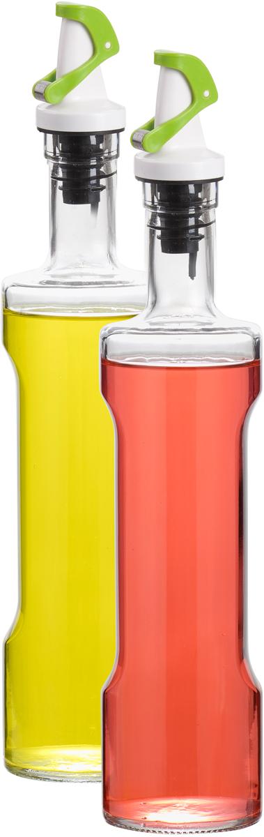 Набор емкостей для масла и уксуса SinoGlass, 500 мл78954001Набор SinoGlass состоит из 2 емкостей для хранения масла и уксуса. Изделия выполнены из прочного стекла. Специальный дозатор позволяет экономично расходовать продукт и не добавлять лишнего. Такой набор емкостей стильно дополнит интерьер кухни и прекрасно послужит для хранения масла и уксуса. Отличный подарок к любому случаю, который порадует любую хозяйку. Размер емкости: 31 х 6,5 х 6,5 см