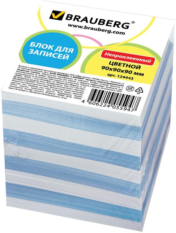 Brauberg Бумага для заметок 9 х 9 см 900 листов 124443126471Бумага для заметок Brauberg изготовлена из цветной высококачественной бумаги, предназначена для использования в пластиковых подставках и настольных органайзерах.