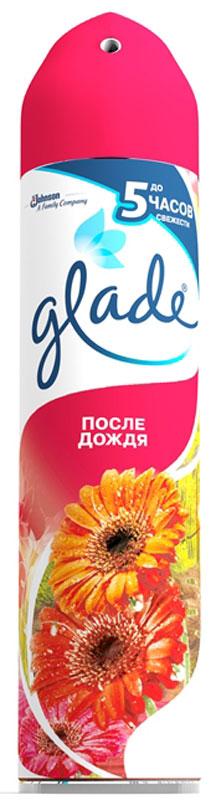 Освежитель воздуха Glade После дождя, 300 мл68/5/4Освежитель воздуха Glade После дождя устраняет запах и оставляет свежесть.Glade После дождя наполнит ваш дом свежестью и создаст ощущение нежногопрохладного ветерка после дождя.Аэрозоли Glade - это серия освежителей воздуха, ароматы которых навеянысамой природой. Они легко устраняют неприятные запахи, оставляя свойтонкий и нежный шлейф.Состав: вода, бутан/пропан/изобутан менее 15% но более 30%, н-ПАВТовар сертифицирован.Уважаемые клиенты!Обращаем ваше внимание на возможные изменения в дизайне упаковки. Качественные характеристики товара остаются неизменными. Поставка осуществляется в зависимости от наличия на складе.