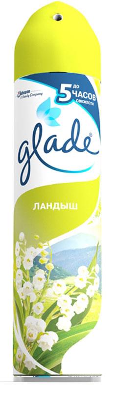Освежитель воздуха Glade Ландыш, 300 мл65414435/8747872Содержит высококачественные натуральные ароматизаторы. Быстро и эффективно устраняет неприятные запахи. Безопасен для окружающей среды и здоровья человека - не содержит хлорфторуглеродов.Уважаемые клиенты! Обращаем ваше внимание на возможные изменения в дизайне упаковки. Качественные характеристики товара остаются неизменными. Поставка осуществляется в зависимости от наличия на складе.