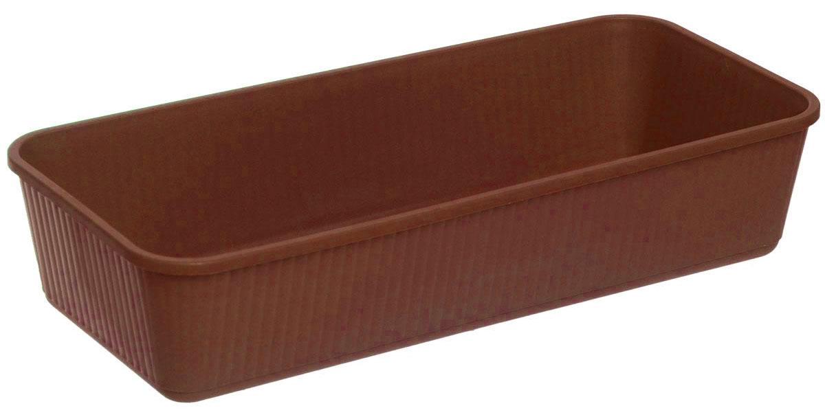 Ящик для рассады Альтернатива, цвет: коричневый, 40,5 х 18 х 8,5 смМ 3221Ящик Альтернатива изготовлен из качественного пластика. Предназначен для выращивания рассады. Такой ящик прекрасно впишется в интерьер дома, террасы или балкона. Он хорошо держит влагу и не деформируется при переноске.