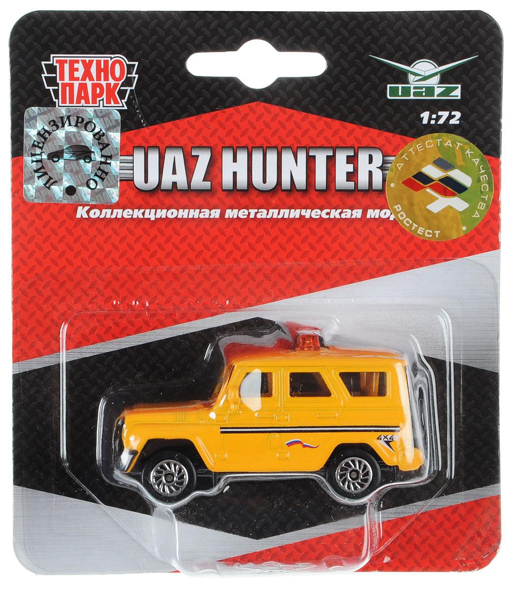 ТехноПарк Автомобиль UAZ Hunter цвет желтый