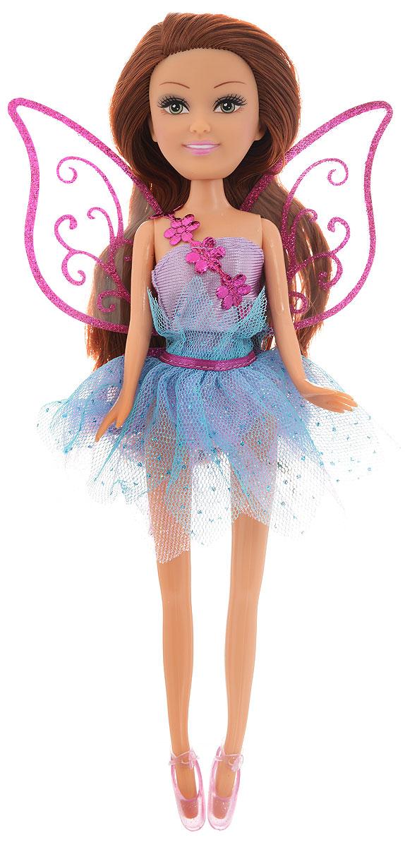 Funville Кукла Фея цвет платья фиолетовый голубой funville кукла интерактив русалочка funville