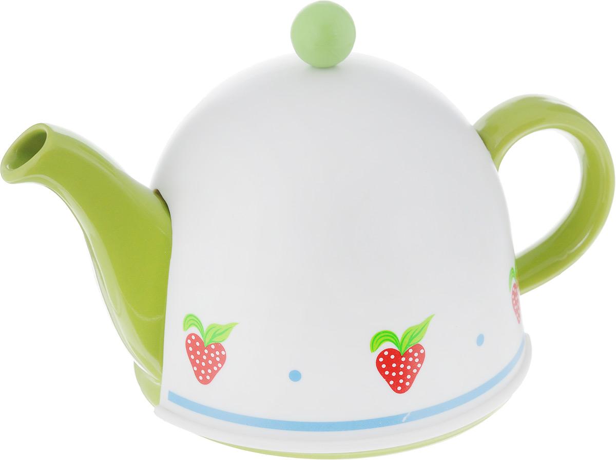 Чайник заварочный Mayer & Boch, с термоколпаком, 500 млVT-1520(SR)Заварочный чайник Mayer & Boch, выполненный из высококачественной керамики, позволит вам заварить свежий ароматный чай. Чайник оснащен сетчатым металлическим фильтром, который задерживает чаинки и предотвращает их попадание в чашку. Сверху на чайник одевается термоколпак из пластика с тканевой прослойкой. Он поможет дольше удерживать тепло, а значит, вода в чайнике дольше будет оставаться горячей и пригодной для заваривания чая. Заварочный чайник Mayer & Boch послужит хорошим подарком для друзей и близких. Диаметр основания чайника: 14 см. Высота чайника (без учета ручки и крышки): 9 см. Размер термоколпака: 15 х 15 х 11 см.