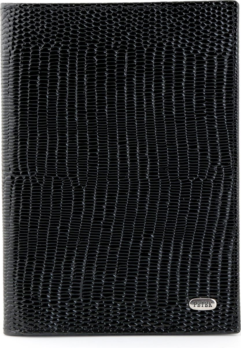 Обложка на паспорт Petek 581.173.01 BlackINT-06501Обложка на паспорт из натуральной кожи. Элегантный и утонченный аксессуар.