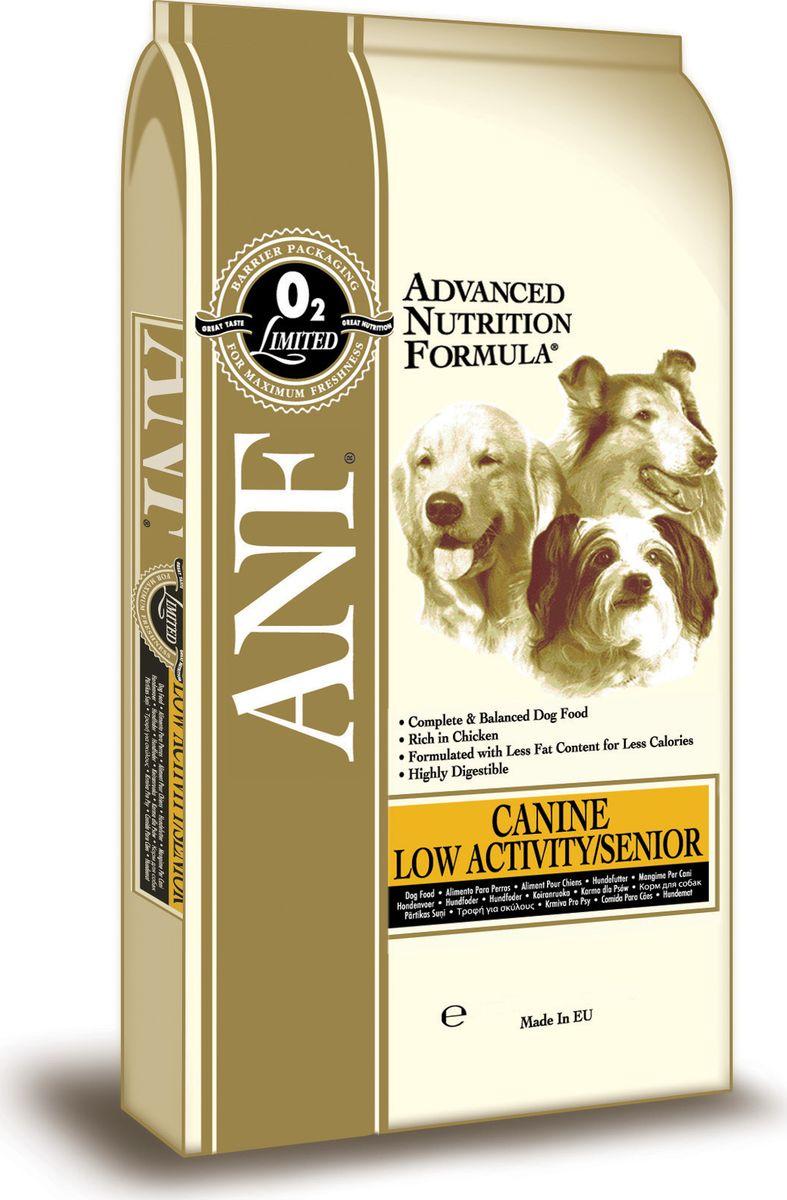 Корм сухой ANF для малоподвижных, склонных к ожирению или пожилых собак, 1 кг4607065379469Повышенное содержание клетчатки для улучшения процесса пищеварения и обеспечения длительного чувства насыщения Снижено содержание калорий специально для собак, ведущий малоподвижный образ жизни Оптимальное количество животного белка для поддержания мышечной массы Отличный вкус, который понравится зрелым собакам.СОСТАВ:дробленый белый рис, куриная мука (мин.28%), овес. свекловичный жом, куриный жир (содержащий консерванты из токоферолов), яичный порошок, льняное семя, карбонат кальция, соус из куриной печени, хлорид натрия, мононатрийфосат, рыбий жир, холинхлорид, пивные дрожжи, смесь токоферола (витамин Е) (альфа-токоферола ацетат), экстракт Yucca Schidigera, аскорбил монофосфат, сульфат железа, сульфат цинка, сульфат марганца, сульфат меди, смесь витамина В12, смесь витамина А (ретинилацетат), витамин РР, смесь селенита натрия, смесь витамина D3 (холекальциферол), смесь витамина Н (биотин), панотенат кальция, витамин В1 (тиамина мононитрат), смесь витамина В2 (рибофлавин), витамин В6 (пиридоксина гидрохлорид), йодат кальция, фолиевая кислота. ГАРАНТИРОВАННЫЙ СОСТАВ: Белок - 24,00% Жир - 10,00% Сырая зола - 8,50% Сырая клетчатка - 4,00% Влажность - 8,00% Кальций (Са) - 1,71% Фосфор (Р) - 1,09% Жирные кислоты Омега-6 - 1,82% Жирные кислоты Омега-3 - 0,61% Витамин А - 25,694 МЕ/кг Витамин D3 - 2,292 МЕ/кг Витамин Е - 182 МЕ/кг Витамин С - 185 мг/кг Пентагидрат сульфата меди 61,11 мг/кг Энергетическая ценность - 328 ккал/ 100 гр.