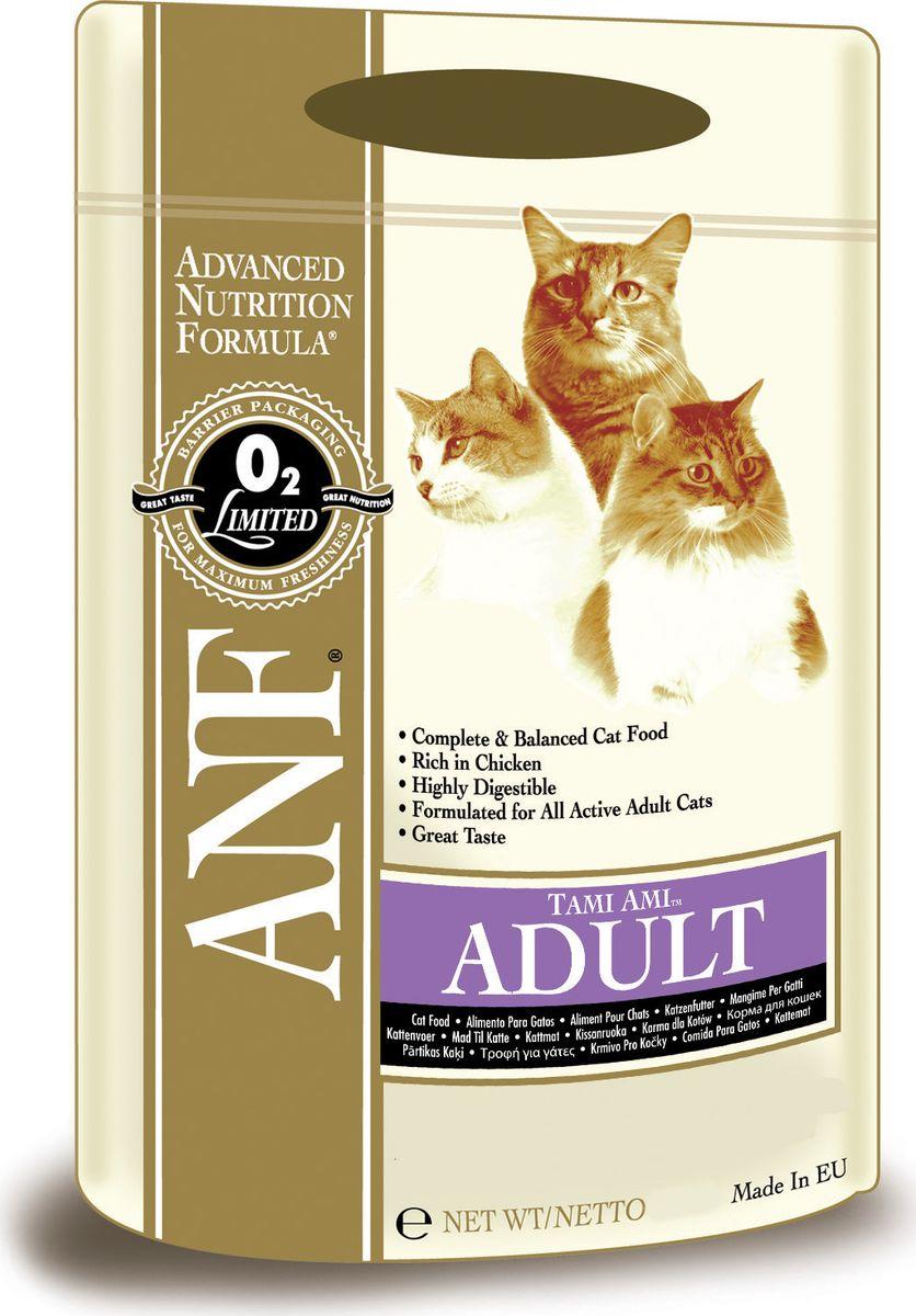 Корм сухой ANF Tami Ami для взрослых кошек, 400 г смесь печная 25 кг