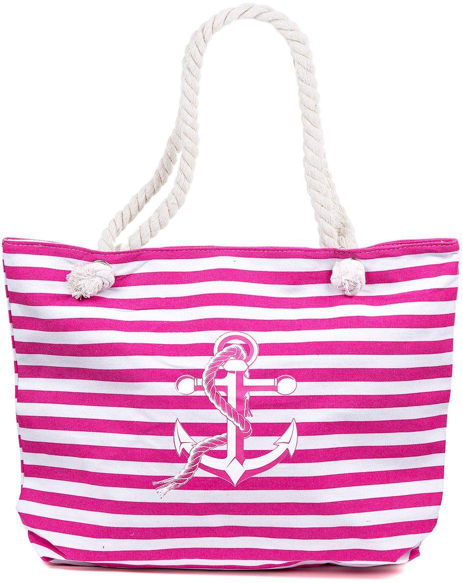 Сумка пляжная женская Nuages, цвет: розовый. NS4197/5BM8434-58AEТекстильная сумка с принтом. Может c одинаковым успехом использоваться как пляжная или летняя городская сумка. Одно отделение. Внутренний карман и наружный карман сзади глубина: 10 см; ширина: 45 см; высота:33 см