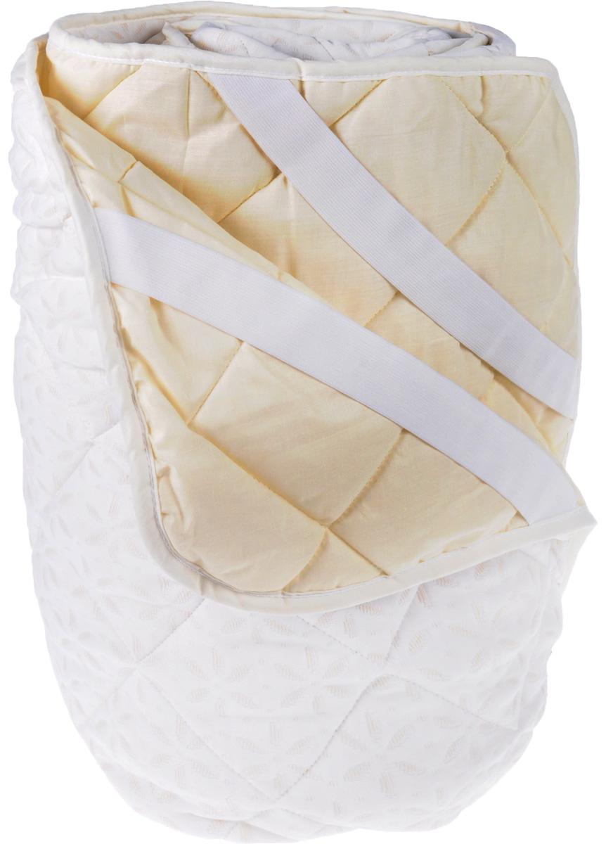 Наматрасник OL-Tex Бамбук, цвет: сливочный, 140 х 200 см ОБТ-140531-105Наматрасник OL-Tex Бамбук с наполнителем из полиэфирного высокосиликонизированного микроволокна на основе бамбука сделает ваш сон еще комфортнее. Чехол выполнен из поликоттона и трикотажного полотна сливочного цвета и оформлен декоративной стежкой в виде крупных ромбов. Изделие изготовлено из экологичных природных и нетоксичных материалов, обладает антисептическим эффектом, гигиенично и не вызывает аллергии. Наматрасник оснащен резинками по углам, поэтому прочно удерживается на матрасе и избавляет от необходимости часто поправлять. Изделие защитит матрас от грязи и пыли и придаст дополнительный комфорт вашему спальному месту. Мягкий и легкий, он прекрасно подойдет для жестких кроватей и диванов, делая ваш сон спокойным и приятным. Легко стирается.Бамбуковое волокно - это экологически чистая основа для создания наполнителя нового поколения, имеет естественные антибактериальные и дезодорирующие функции. Обладает прекрасной воздухопроницаемостью и впитывающими свойствами за счет пористой структуры бамбукового волокна. Не вызывает раздражений на коже человека, идеально подходит людям, страдающим аллергией и астмой. Обладает замечательной вентилирующей способностью и отличается высоким показателем чистоты. Природные свойства бамбука препятствуют проникновению бактерий и образованию запахов. Отлично переносит многократные циклы стирок и сушек. Характеристики:Материал чехла: трикотажное полотно (бамбук/полиэстер), поликоттон (50% хлопок/50% полиэстер). Наполнитель: волокно на основе бамбука, полиэстер. Цвет: сливочный. Плотность: 200 г/м2. Размер наматрасника: 140 см х 200 см. Артикул: ОБТ-140.