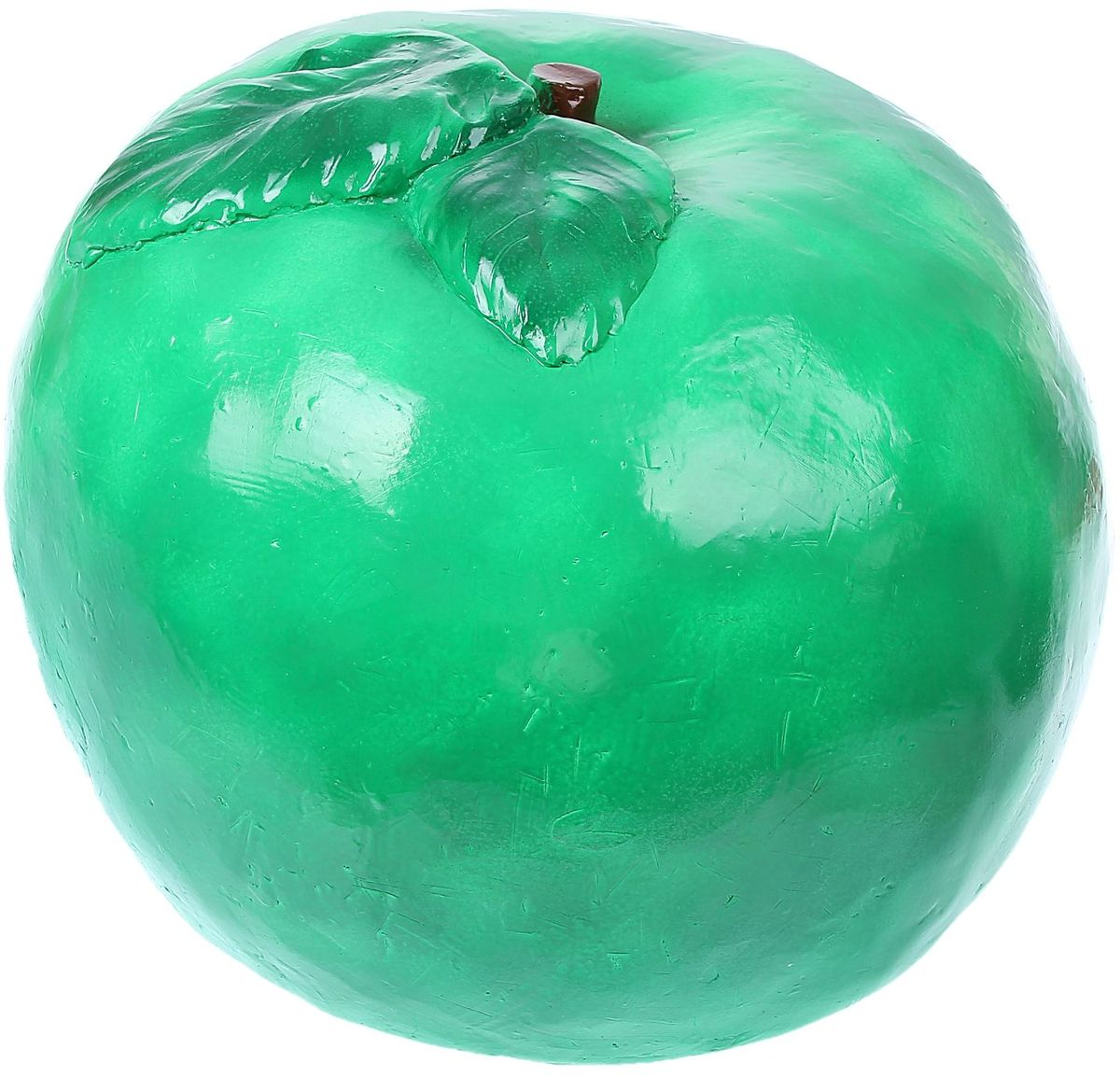 Фигура садовая Зеленое яблоко, 30 х 38 х 38 смC0038550Не удаётся вырастить крупные фрукты? Не беда. Это большое яркое яблоко затмит на садовом участке любой урожай. Колоритный декор добавит окружающему пространству новые краски, удивит соседей и вызовет восторг гостей.С помощью яркой садовой фигуры легко расставить акценты: например, привлечь внимание к цветочной клумбе или водоёму. Фигура из гипса отличается лёгкостью, экологичностью и долговечностью. Украшайте любимый сад оригинально.