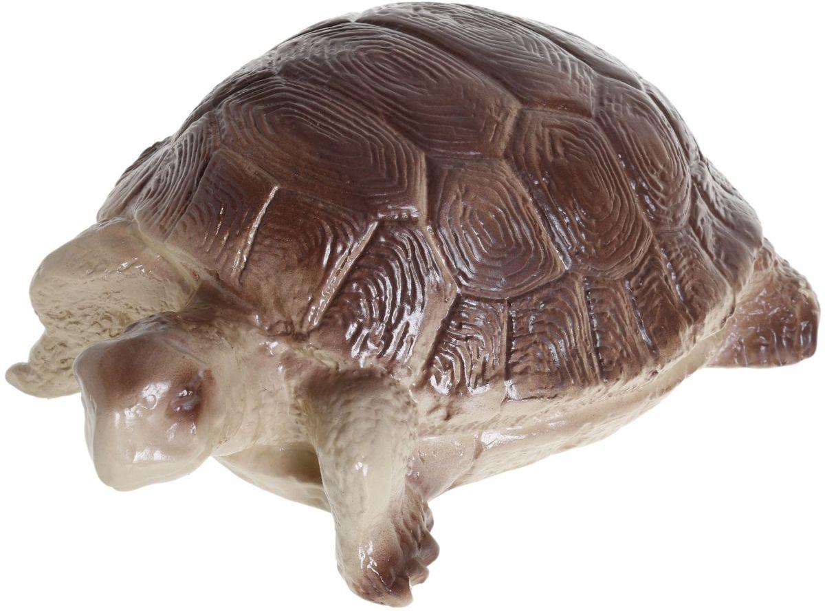 Фигура садовая Мультяшная черепаха Игрид, 17 х 26 х 11 см287317Создайте настроение в любимом саду: украсьте его оригинальным декором - садовой фигурой. Представители фауны разнообразят ландшафт. Сделайте свой сад неповторимым. Фигура из гипса экологичная, лёгкая и долговечная. Она сделает любимый сад неповторимым.