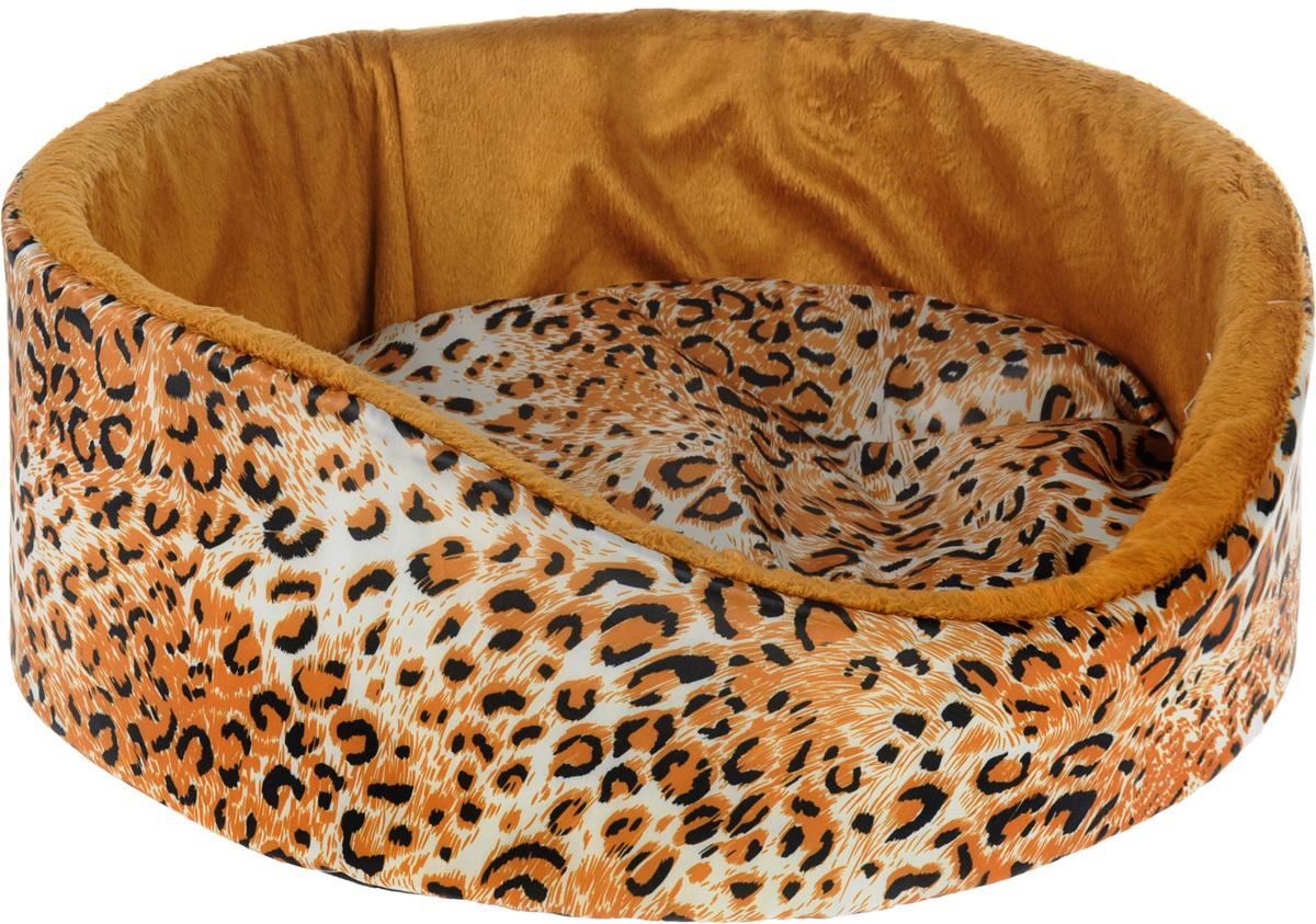 Лежак для кошек и собак GLG Нежность, 40 x 36 x 15 см0120710Мягкий лежак GLG Нежность обязательно понравится вашему питомцу. Он выполнен из качественного сочетания хлопка с полиэстером и дополнен набивкой из поролона. Материал не теряет своей формы долгое время. Высокие бортики обеспечат вашему любимцу уют. Мягкий лежак станет излюбленным местом вашего питомца, подарит ему спокойный икомфортный сон, а также убережет вашу мебель от шерсти.