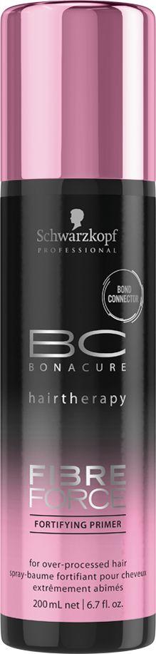 Bonacure Укрепляющий праймер Fibre Force, 200 млMP59.4DУкрепляющий праймер для волос в виде сыворотки с технологией Bond Connector создает связи внутри волосяной матрицы и запечатывает кутикулу волос для долговременного ухода. Распутывает, смягчает и обеспечивает волосам защиту от теплового воздействия. Волосы более устойчивы к повреждениям, мягкие и блестящие.