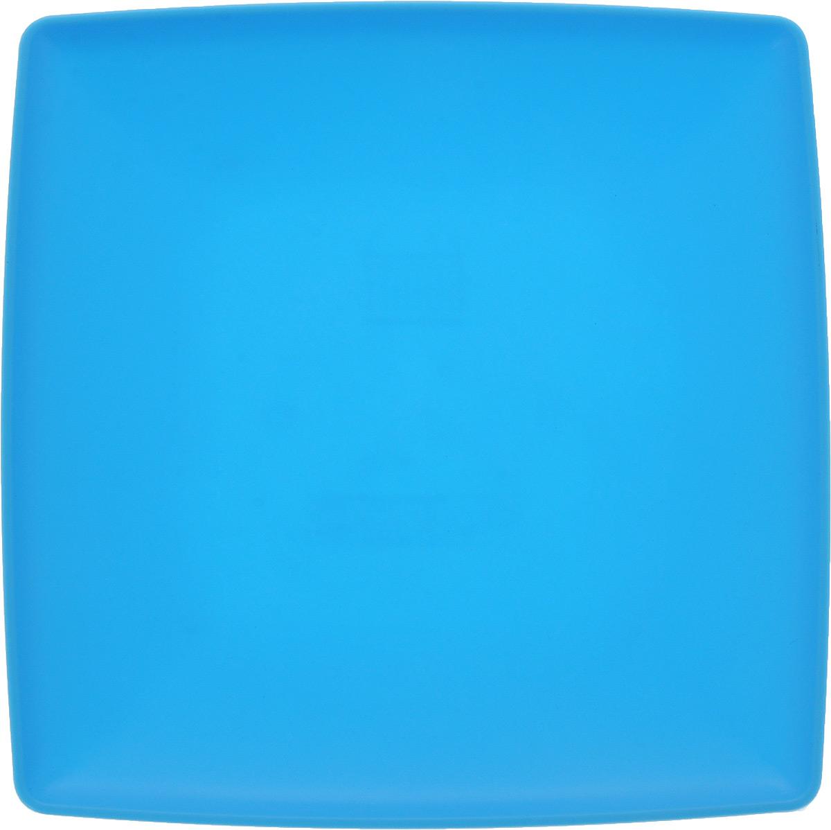 Тарелка Gotoff, цвет: голубой, 19 х 19 смFS-91909Квадратная тарелка Gotoff выполнена из прочного пищевого полипропилена. Изделие отлично подойдет как для холодных, так и для горячих блюд. Его удобно использовать дома или на даче, брать с собой на пикники и в поездки. Отличный вариант для детских праздников. Такая тарелка не разобьется и будет служить вам долгое время.Можно использовать в СВЧ, ставить в морозилку при температуре -25°С и мыть в посудомоечной машине при температуре +95°С.