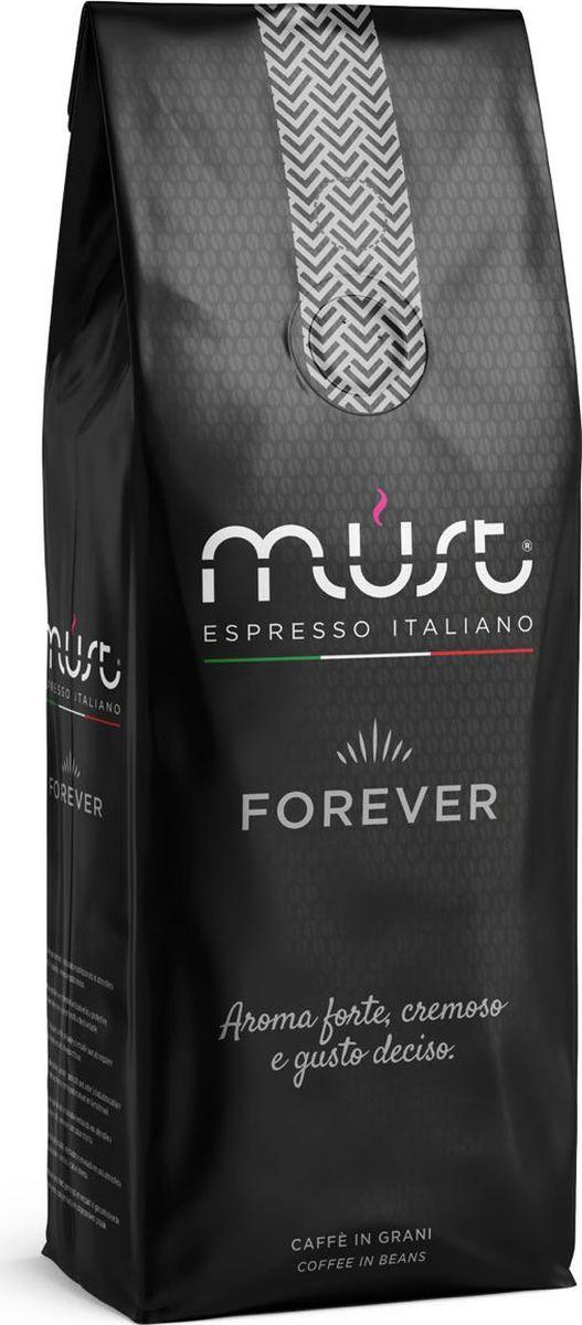 Must Forever кофе в зернах, 1 кг8009360483046Кофе натуральный жареный высший сорт, в зернах. Средняя обжарка. Арабика - 90%, Робуста - 10%.