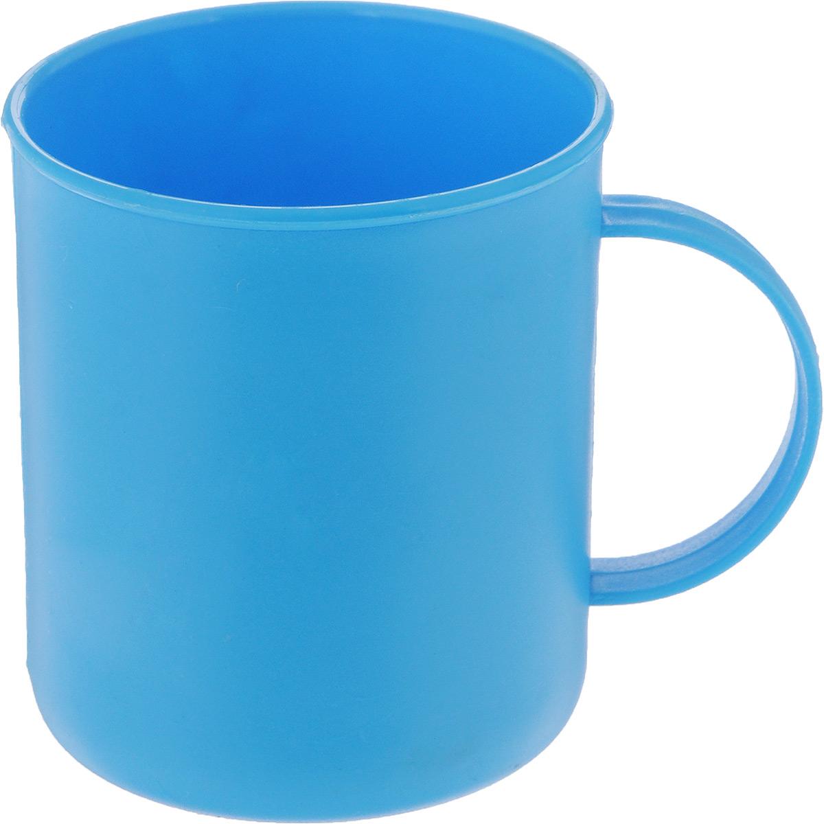 Кружка Gotoff, цвет: голубой, 300 мл115510Кружка Gotoff выполнена из прочного пищевого полипропилена. Изделие отлично подойдет как для холодных, так и для горячих напитков. Его удобно использовать дома или на даче, брать с собой на пикники и в поездки. Отличный вариант для детских праздников. Такая кружка не разобьется и будет служить вам долгое время.Диаметр кружки (по верхнему краю): 7,5 см. Высота кружки: 8,5 см.