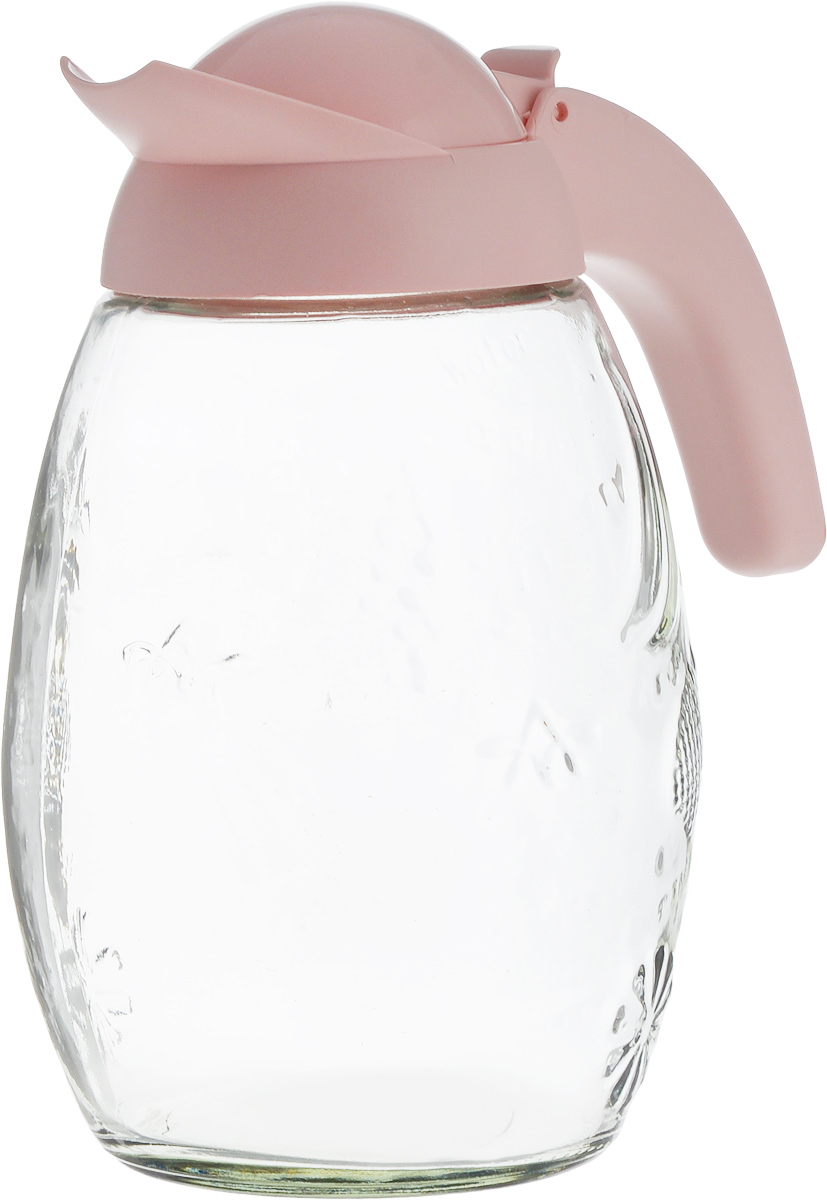 Кувшин Herevin, цвет: розовый, прозрачный, 1,6 л111351-500_розовый, прозрачныйКувшин Herevin, выполненный из прочного стекла и пластика, элегантно украсит ваш стол. Такой кувшин прекрасно подойдет для подачи воды, сока, компота и других напитков. Кувшин закрывается пластиковой крышкой. Крышка устроена таким образом, что выливать жидкость можно не поднимая ее, так как напиток будет проходить через специальную выемку. Кувшин Herevin дополнит интерьер вашей кухни и станет замечательным подарком к любому празднику.Можно мыть в посудомоечной машине. Диаметр кувшина по верхнему краю (без учета носика): 7,5 см.Высота кувшина (с учетом крышки): 22 см.