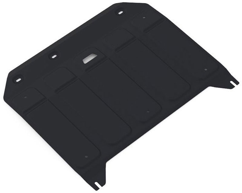 Защита картера и КПП Автоброня, для Ssang Yong TivoliCA-3505Защита картера и КПП Автоброня Ssang Yong Tivoli 2016-, V - 1.6; передний привод, сталь 2 мм, 111.05318.1Стальные защиты Автоброня надежно защищают ваш автомобиль от повреждений при наезде на бордюры, выступающие канализационные люки, кромки поврежденного асфальта или при ремонте дорог, не говоря уже о загородных дорогах.- Имеют оптимальное соотношение цена-качество.- Спроектированы с учетом особенностей автомобиля, что делает установку удобной.- Защита устанавливается в штатные места кузова автомобиля.- Является надежной защитой для важных элементов на протяжении долгих лет.- Глубокий штамп дополнительно усиливает конструкцию защиты.- Подштамповка в местах крепления защищает крепеж от срезания.- Технологические отверстия там, где они необходимы для смены масла и слива воды, оборудованные заглушками, закрепленными на защите.Толщина стали 2 мм.В комплекте крепеж и инструкция по установке.Уважаемые клиенты!Обращаем ваше внимание, на тот факт, что защита имеет форму, соответствующую модели данного автомобиля. Наличие глубокого штампа и лючков для смены фильтров/масла предусмотрено не на всех защитах. Фото служит для визуального восприятия товара.