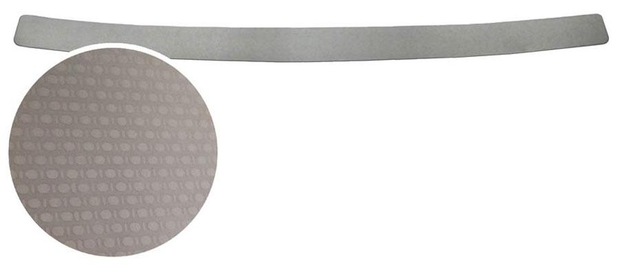 Накладка на задний бампер Rival, для Renault Kaptur 2016-DW90Накладка на задний бампер Rival защищает лакокрасочное покрытие от механических повреждений и создает индивидуальный внешний вид автомобиля.- Использование высококачественной итальянской нержавеющей стали AISI 304 с декоративным рельефом.- Надежная фиксация на автомобиле с помощью фирменного скотча 3М на акриловой основе: влагостойкий и морозостойкий.- Рельефный рисунок накладки придает автомобилю индивидуальный внешний вид.- Идеально повторяют геометрию бампера автомобиля.
