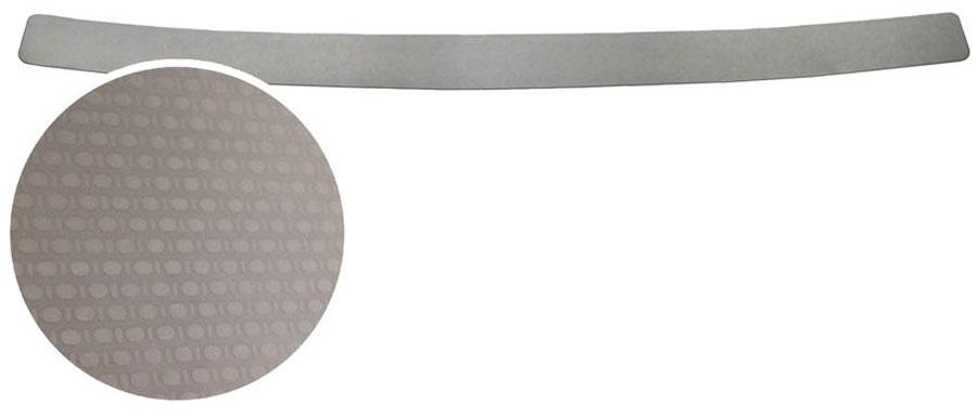 Накладка на задний бампер Rival, для Volkswagen Tiguan 2016-MW-3101Накладка на задний бампер Rival защищает лакокрасочное покрытие от механических повреждений и создает индивидуальный внешний вид автомобиля.- Использование высококачественной итальянской нержавеющей стали AISI 304 с декоративным рельефом.- Надежная фиксация на автомобиле с помощью фирменного скотча 3М на акриловой основе: влагостойкий и морозостойкий.- Рельефный рисунок накладки придает автомобилю индивидуальный внешний вид.- Идеально повторяют геометрию бампера автомобиля.