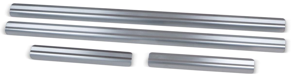 Накладки на пороги Rival, для Nissan Qashqai 2014-, 4 штNPREDUS011Накладки на пороги Rival создают индивидуальный интерьер автомобиля и защищают лакокрасочное покрытие от механических повреждений.- Использование высококачественной итальянской нержавеющей стали AISI 304 (толщина 0,5 мм).- Надежная фиксация на автомобиле с помощью фирменного скотча 3М на акриловой основе: влагостойкий и морозостойкий.- Устойчивое к истиранию изображение на накладках нанесено методом абразивной полировки.- Идеально повторяют геометрию порогов автомобиля.- Легкая и быстрая установка.