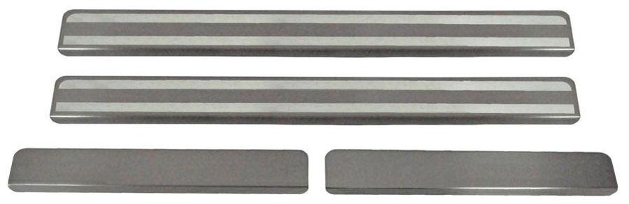 Накладки на пороги Автоброня, для Volkswagen Polo 2015-, 4 шт. NPVWPOL0131004900000360Накладки на пороги Автоброня создают индивидуальный интерьер автомобиля и защищают лакокрасочное покрытие от механических повреждений.- В комплект входят 4 накладки (2 передние и 2 задние).- Использование высококачественной итальянской нержавеющей стали AISI 304 (толщина 0,5 мм).- Надежная фиксация на автомобиле с помощью скотча 3М серии VHB.- Устойчивое к истиранию изображение на накладках нанесено методом абразивной полировки.- Идеально повторяют геометрию порогов автомобиля.- Легкая и быстрая установка.