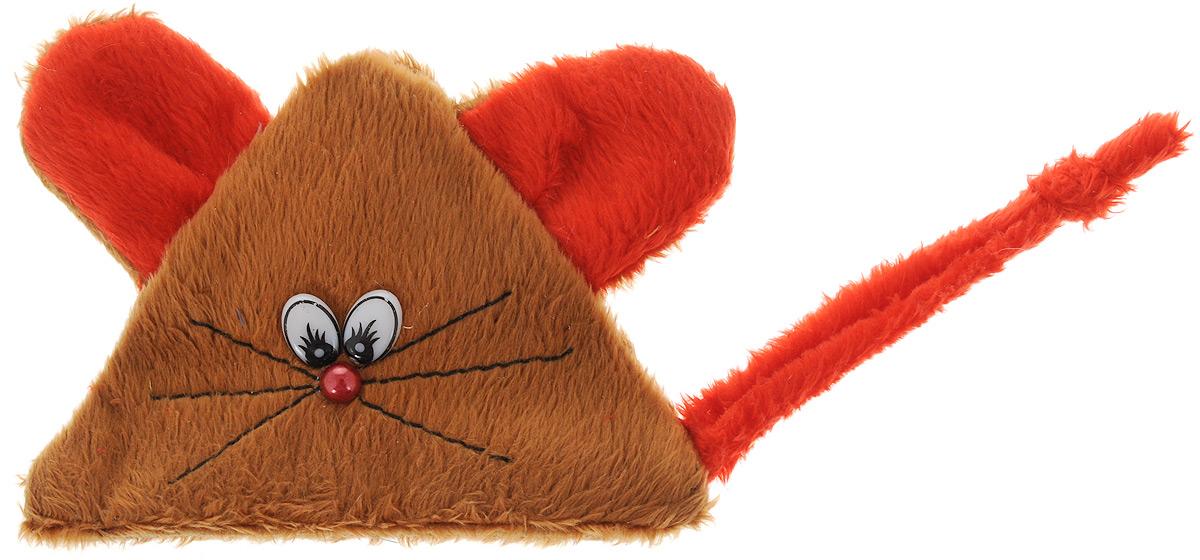Игрушка для кошек GLG Мышь на липучке, с экстрактом кошачей мяты, цвет: коричневый, красный0120710Игрушка для кошек GLG Мышь на липучке выполнена из мягкого текстиля. Играя с этой забавной игрушкой, маленькие котята развиваются физически, а взрослые кошки и коты поддерживают свой мышечный тонус. Изделие выполнено в виде мыши. Внутри расположен мешочек с кошачьей мятой, который привлечет кошку. Кошачья мята - растение, запах которого делает кошку более игривой и любопытной. С помощью этого средства кошка легче перенесет путешествие на автомобиле, посещение ветеринарного врача, переезд на новую квартиру.