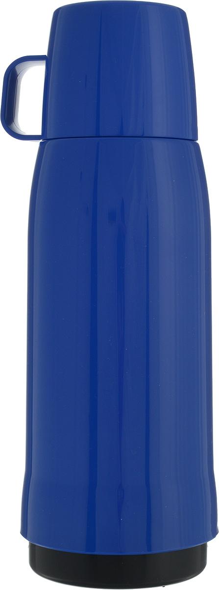 Термос Emsa Rocket, цвет: синий, 750 мл502445Термос Emsa Rocket выполнен из прочного цветного пластика со стеклянной колбой. Термос прост в использовании и очень функционален. Оснащен герметичным клапаном и крышкой, которую можно использовать в качестве стакана. Легкий и прочный термос Emsa Rocket сохранит ваши напитки горячими или холодными надолго.Высота (с учетом крышки): 29 см.Диаметр горлышка: 6,5 см.Диаметр дна: 9,5 см.Размер крышки (без учета ручки): 8 х 8 х 6,7 см.Сохранение холода: 24 ч.Сохранение тепла: 12 ч.