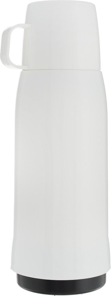 Термос Emsa Rocket, цвет: белый, 750 мл502446Термос Emsa Rocket выполнен из прочного цветного пластика со стеклянной колбой. Термос прост в использовании и очень функционален. Оснащен герметичным клапаном и крышкой, которую можно использовать в качестве стакана. Легкий и прочный термос Emsa Rocket сохранит ваши напитки горячими или холодными надолго.Высота (с учетом крышки): 29 см.Диаметр горлышка: 6,5 см.Диаметр дна: 9,5 см.Размер крышки (без учета ручки): 8 х 6,7 х 6,7 см.Сохранение холода: 24 ч.Сохранение тепла: 12 ч.