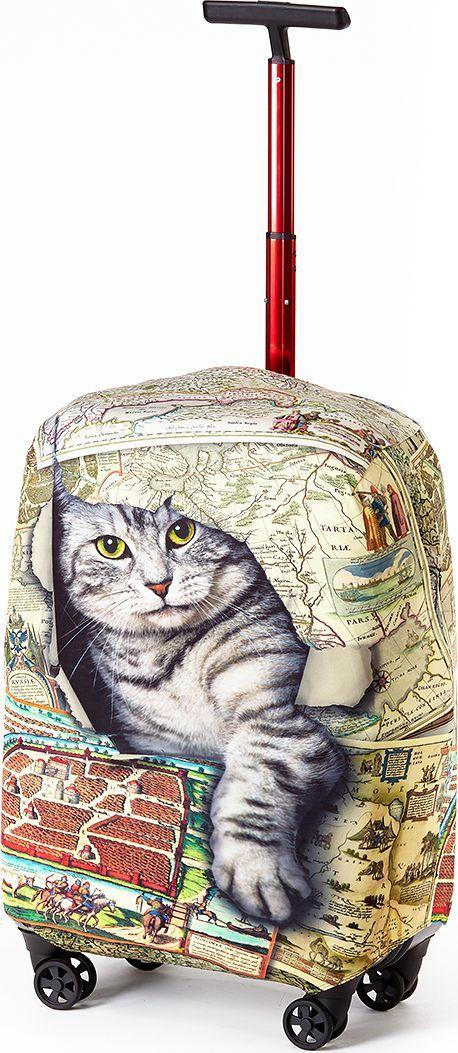 Чехол для чемодана Ratel Кот в мешке. Размер L (75-84 см)KSA-10347Стильный и практичный чехол RATEL создан для защиты Вашего чемодана. Размер L предназначен для больших чемоданов высотой от 75 см до84 см. Благодаря очень прочной и эластичной ткани чехол RATEL отлично садится на любой чемодан. Все важные части чемодана полностью защищены, а для боковых ручек предусмотрены две потайные молнии. Внизу чехла - упрочненная молния-трактор. Наличие запатентованного кармашка служит ориентиром и позволяет быстро и правильно надеть чехол на чемодан. Ткань чехла – приятна на ощупь, легко стирается и долго сохраняет свой первоначальный вид. Назначение чехла RATEL: Защищает чемодан от пыли, грязи иразных повреждений.Экономит Вашиденьги и время на обмотке пленкой чемодана в аэропорту. Защищает Ваш багаж от вскрытия. Предупреждает перевес. Чехол легко и быстро снять с чемодана и переложить лишние вещи,в отличие от обмотки. Яркая индивидуальность. Вы никогда не перепутаете свой чемодан счужим как на багажной ленте в аэропорту, так ив туристическом автобусе. Легкийи компактный, не добавляет веса, не занимает места. Складывается сам в себя.Характеристики:Тип: чехол для чемоданаРазмер чемодана: М (высота чемодана: 75 см. - 84 см.) Материал: Бифлекс, плотность - 240 грамм.Тип застежки: молнияСтрана изготовитель: РоссияУпаковка: пакетРазмер упаковки: 20 см. х 1,5 см. х 16 см. Вес в упаковке: 200 грамм.