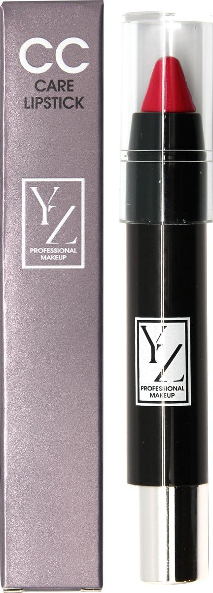 Yllozure помада-карандаш СС-уход, тон 46SC-FM20101Новая концепция СС (Контроль Цвета) и защита губ от неблагоприятного воздействия окружающей среды реализована в лимитированной коллекции удобных карандашей для губ YZ СС-care. Формула помады основана на современных высокоочищенных восках и инертных полимерах, которые создают на губах эластичное защитное покрытие, предотвращающее обветривание, шелушение и раздражение. Она смягчает, разглаживает кожу губ и при этом тонирует и придает легкий влажный блеск. Помада не содержит отдушек и синтетических красителей, способных вызывать раздражения. В ее составе используются гипоаллергенные минеральные пигменты, которые придают губам натуральные полупрозрачные оттенки, не сушат губы и не «въедаются» в кожу.