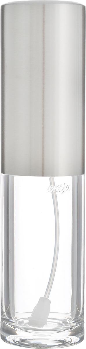 Емкость-спрей для масла или уксуса Emsa Accenta, 250 млВетерок 2ГФЕмкость-спрей Emsa Accenta выполнена из высококачественной стали и стекла. Такое изделие станет полезным аксессуаром на вашей кухне. Благодаря распылителю, вы без труда сможете добавить в блюдо уксус или масло.Такая емкость стильно дополнит интерьер кухни и прекрасно послужит для хранения масла и уксуса. Отличный подарок к любому случаю,который порадует любую хозяйку. Размер емкости (с учетом крышки): 5 х 5 х 20,5 см.