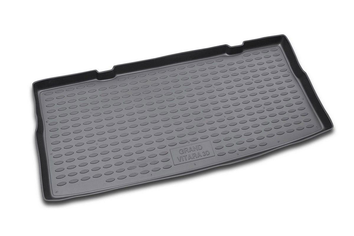 Коврик автомобильный Novline-Autofamily для Suzuki Grand Vitara 3D кроссовер 2005-2008, в багажникLGT.47.15.B13Автомобильный коврик Novline-Autofamily, изготовленный из полиуретана, позволит вам без особых усилий содержать в чистоте багажный отсек вашего авто и при этом перевозить в нем абсолютно любые грузы. Этот модельный коврик идеально подойдет по размерам багажнику вашего автомобиля. Такой автомобильный коврик гарантированно защитит багажник от грязи, мусора и пыли, которые постоянно скапливаются в этом отсеке. А кроме того, поддон не пропускает влагу. Все это надолго убережет важную часть кузова от износа. Коврик в багажнике сильно упростит для вас уборку. Согласитесь, гораздо проще достать и почистить один коврик, нежели весь багажный отсек. Тем более, что поддон достаточно просто вынимается и вставляется обратно. Мыть коврик для багажника из полиуретана можно любыми чистящими средствами или просто водой. При этом много времени у вас уборка не отнимет, ведь полиуретан устойчив к загрязнениям.Если вам приходится перевозить в багажнике тяжелые грузы, за сохранность коврика можете не беспокоиться. Он сделан из прочного материала, который не деформируется при механических нагрузках и устойчив даже к экстремальным температурам. А кроме того, коврик для багажника надежно фиксируется и не сдвигается во время поездки, что является дополнительной гарантией сохранности вашего багажа.Коврик имеет форму и размеры, соответствующие модели данного автомобиля.