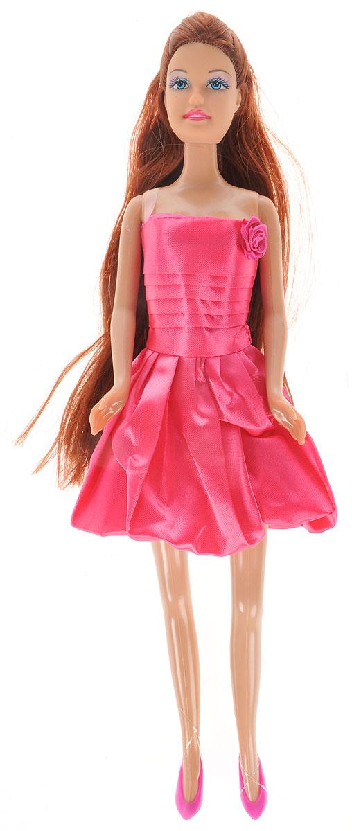 Defa Toys Кукла Lucy цвет платья розовый defa toys кукла lucy