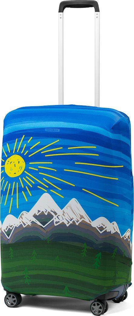 Чехол для чемодана Ratel Солнце и горы. Размер L (75-84 см)KSA-10347Стильный и практичный чехол RATEL создан для защиты Вашего чемодана. Размер L предназначен для больших чемоданов высотой от 75 см до84 см. Благодаря очень прочной и эластичной ткани чехол RATEL отлично садится на любой чемодан. Все важные части чемодана полностью защищены, а для боковых ручек предусмотрены две потайные молнии. Внизу чехла - упрочненная молния-трактор. Наличие запатентованного кармашка служит ориентиром и позволяет быстро и правильно надеть чехол на чемодан. Ткань чехла – приятна на ощупь, легко стирается и долго сохраняет свой первоначальный вид. Назначение чехла RATEL: Защищает чемодан от пыли, грязи иразных повреждений.Экономит Вашиденьги и время на обмотке пленкой чемодана в аэропорту. Защищает Ваш багаж от вскрытия. Предупреждает перевес. Чехол легко и быстро снять с чемодана и переложить лишние вещи,в отличие от обмотки. Яркая индивидуальность. Вы никогда не перепутаете свой чемодан счужим как на багажной ленте в аэропорту, так ив туристическом автобусе. Легкийи компактный, не добавляет веса, не занимает места. Складывается сам в себя.Характеристики:Тип: чехол для чемоданаРазмер чемодана: М (высота чемодана: 75 см. - 84 см.) Материал: Бифлекс, плотность - 240 грамм.Тип застежки: молнияСтрана изготовитель: РоссияУпаковка: пакетРазмер упаковки: 20 см. х 1,5 см. х 16 см. Вес в упаковке: 200 грамм.