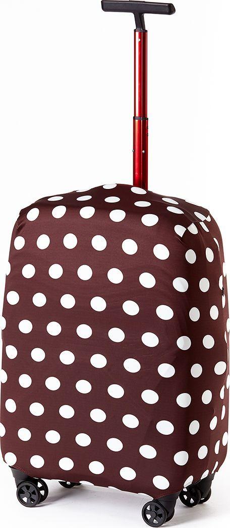 Чехол для чемодана Ratel Горох, цвет: шоколадный. Размер S (49-55 см)MHDR2G/AСтильный и практичный чехол RATEL создан для защиты Вашего чемодана. Размер S предназначен для маленьких чемоданов высотой от 49 см до55 см. Благодаря очень прочной и эластичной ткани чехол RATEL отлично садится на любой чемодан. Все важные части чемодана полностью защищены, а для боковых ручек предусмотрены две потайные молнии. Внизу чехла - упрочненная молния-трактор. Наличие запатентованного кармашка служит ориентиром и позволяет быстро и правильно надеть чехол на чемодан. Ткань чехла – приятна на ощупь, легко стирается и долго сохраняет свой первоначальный вид.Назначение чехла RATEL:Защищает чемодан от пыли, грязи иразных повреждений. Экономит Вашиденьги и время на обмотке пленкой чемодана в аэропорту. Защищает Ваш багаж от вскрытия. Предупреждает перевес. Чехол легко и быстро снять с чемодана и переложить лишние вещи,в отличие от обмотки. Яркая индивидуальность. Вы никогда не перепутаете свой чемодан счужим как на багажной ленте в аэропорту, так ив туристическом автобусе. Легкийи компактный, не добавляет веса, не занимает места. Складывается сам в себя. Характеристики:Тип: чехол для чемоданаРазмер чемодана: М (высота чемодана: 49 см.-55 см.) Материал: Бифлекс, плотность - 240 грамм.Тип застежки: молнияСтрана изготовитель: РоссияУпаковка: пакетРазмер упаковки: 20 см. х 1,5 см. х 16 см.Вес в упаковке: 125 грамм.