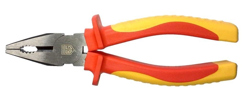 Плоскогубцы Berger, диэлектрические, до 1000V, 180 мм. BG1174ст18фПлоскогубцы диэлектрические 180 мм до 1000V.Хромованадиевая сталь износостойкие захватные губки, с дополнительной закалкой. Эргономичные рукоятки имеют антискользящие вставки для более уверенного обхвата инструмента.