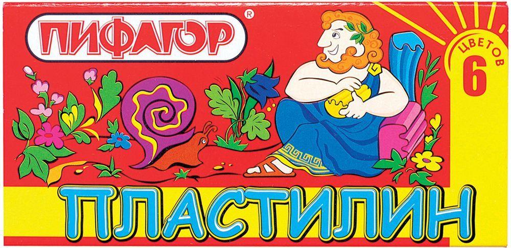 Пифагор Пластилин 6 цветов100970Пластилин Пифагор для детского творчества отличается яркими сочными цветами, обладает высокой пластичностью, не прилипает к рукам, без запаха, нетоксичен. Может использоваться для опломбирования дверей, сейфов, пеналов с ключами и т.д.