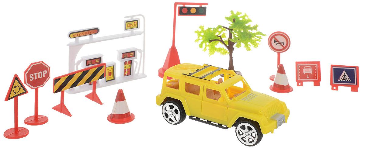ABtoys Игровой набор Автозаправка