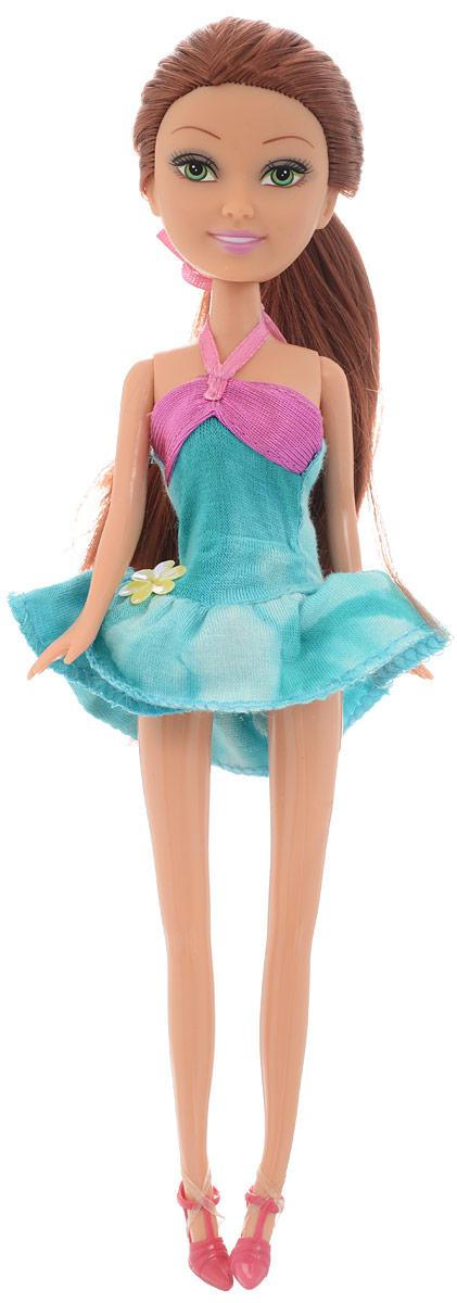 Funville Кукла Brilliance Fair цвет платья бирюзовый funville кукла дождливый день