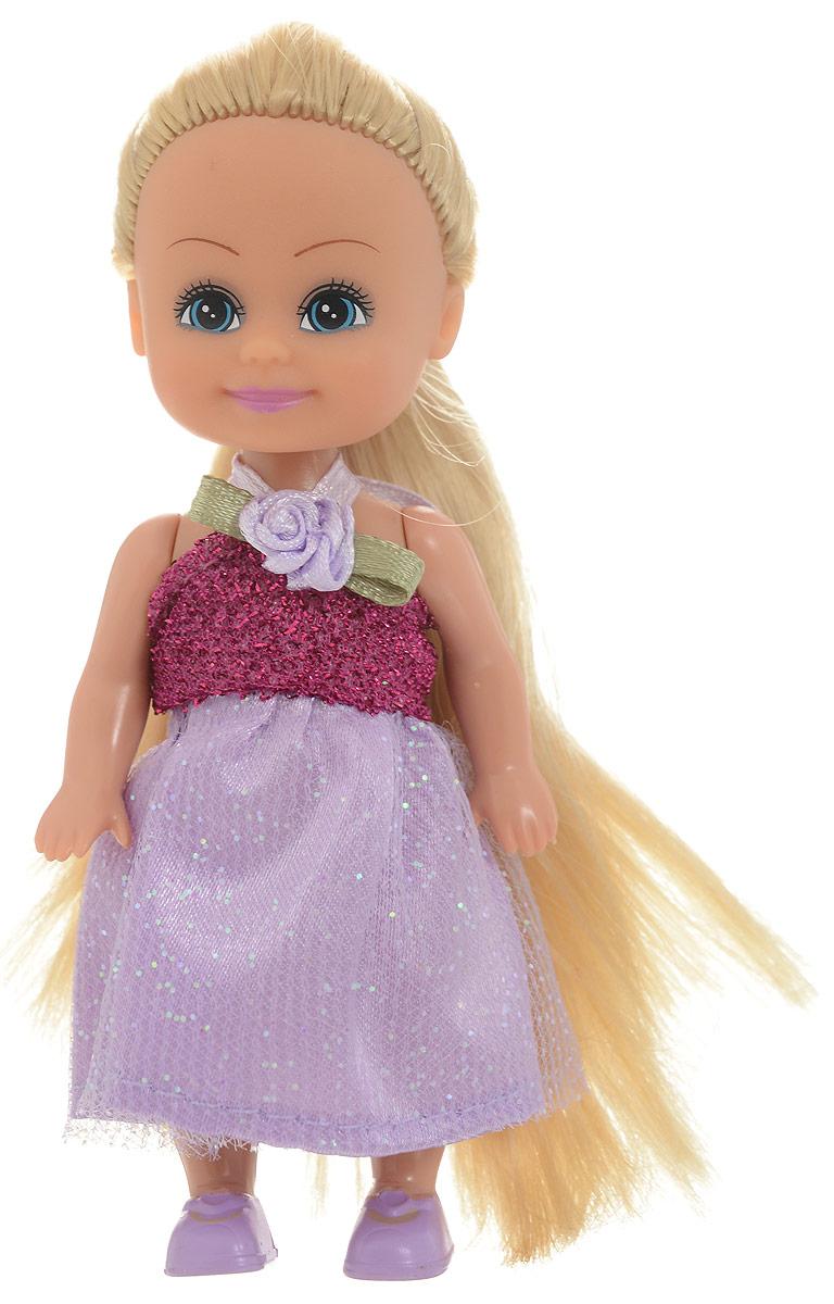 Funville Мини-кукла Маленькая принцесса цвет платья розовый кукла funville модница 20 см 240105