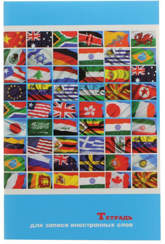 Феникс+ Тетрадь для записи иностранных слов Флаги мира 32 листа в линейку05824/415937Тетрадь для записи иностранных слов Феникс+ Флаги мира подойдет как студенту, так и школьнику. Внутренний блок состоит из 64 страниц в линейку и имеет 2 графы: слово, перевод.Обложка тетради выполнена из картона, максимально износоустойчива и надежна.