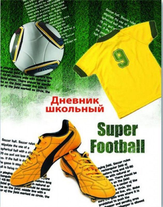 Феникс+ Дневник школьный Футбольная экипировка