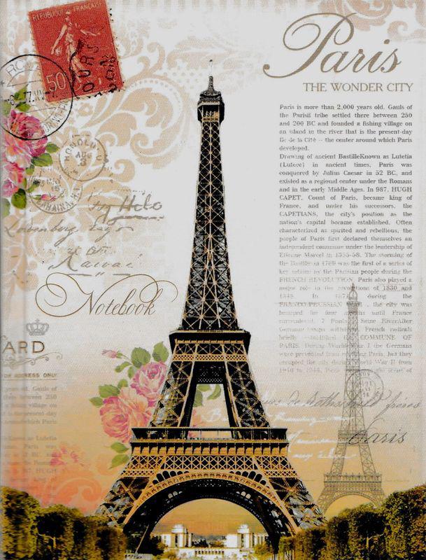 Бриз Блокнот Весенний Париж в клетку 160 листов1150-136Формат: А6.Количество листов: 160.Обложка 7БЦ.